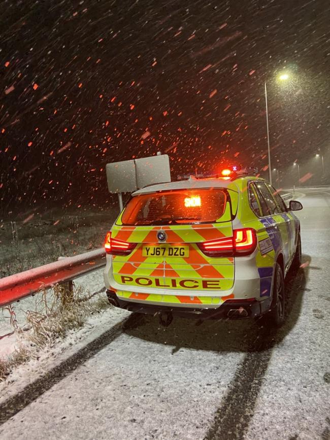 Junction 22 of the M62. Picture: RPU