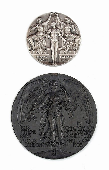 The Olympic medals won by Alice Greene