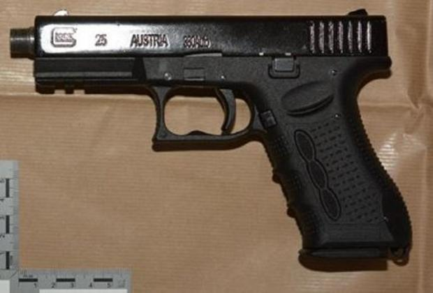 Bradford Telegraph and Argus: One of the firearms seized during the police operation