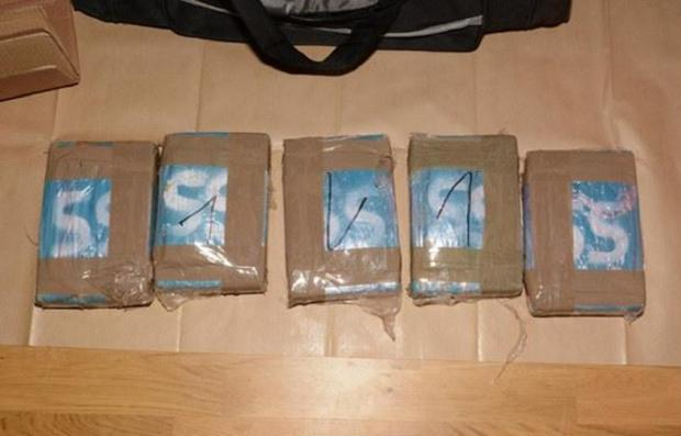Bradford Telegraph and Argus: Drugs seized by police during the investigation into the gamg