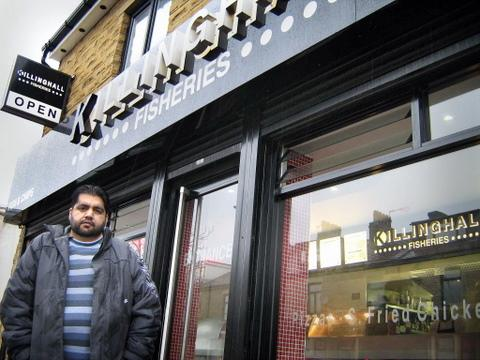 Laisterdyke chip owner feels sorry for parents of crash victims mohammed shaban owner of killinghall fisheries outside the business solutioingenieria Gallery