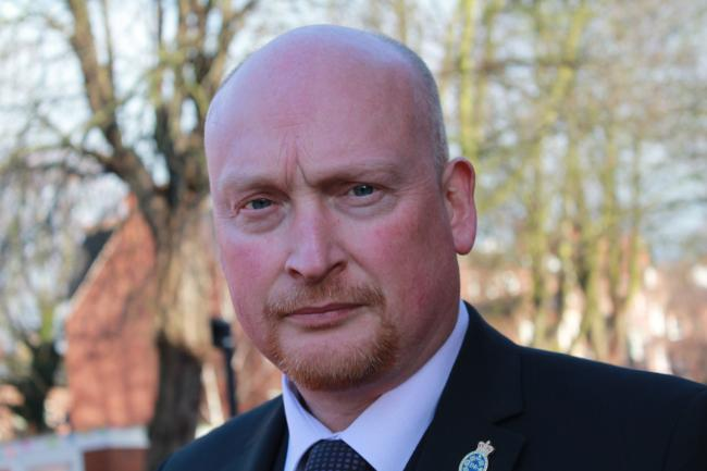 Yorkshire Police Federation Chair Brian Booth.