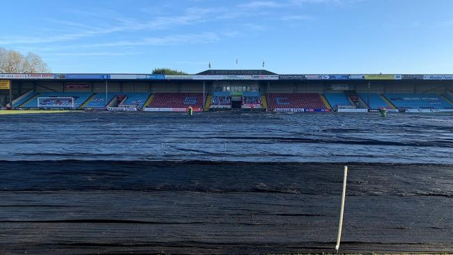 City's game against Scunthorpe was called off because of a frozen pitch. Picture: @sufcofficial