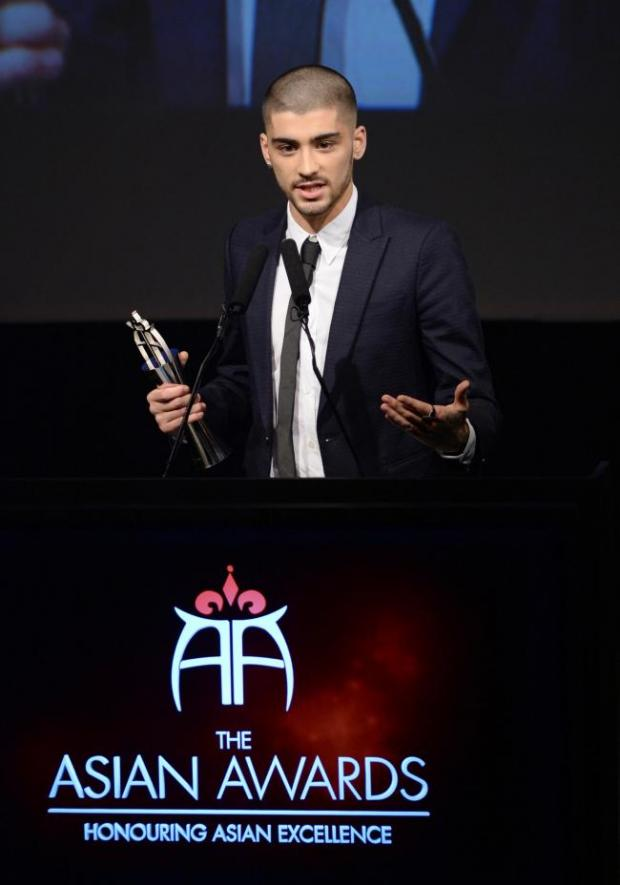 Bradford Telegraph and Argus: Zayn picks up another award