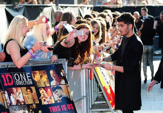Bradford Telegraph and Argus: Making time for his fans in 2013