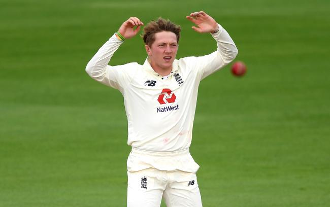 Dom Bess had great figures after the first three Tests of the winter, but was surprisingly left out for last week's game in Chennai. Picture: Mike Hewitt/PA Wire.