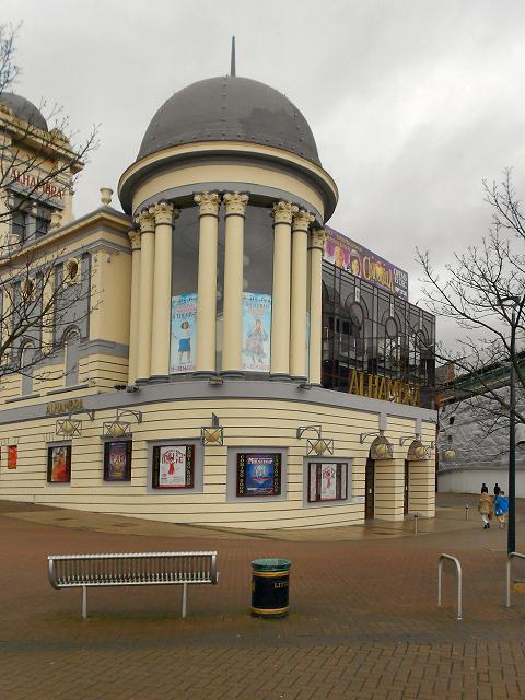 Bradford Telegraph and Argus:  Alhambra Theatre