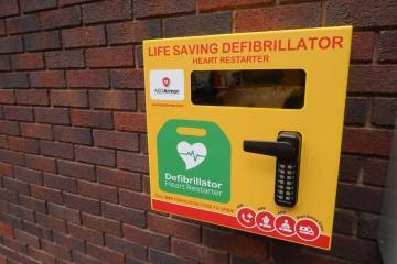 Location of every registered defibrillator in Bradford district