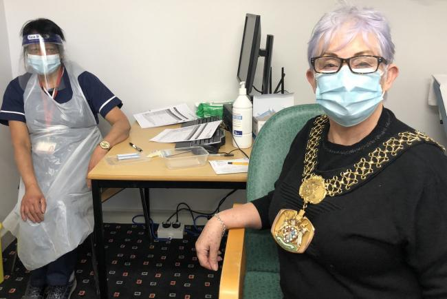 The Lord Mayor of Bradford speaks on her experience getting the Covid-19 vaccine