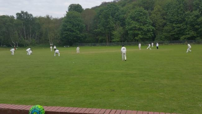 Dales Council League action down at Woodhouse Cricket Club