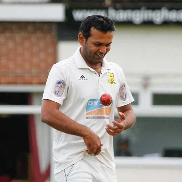 Nauman Ali helped spin Pakistan to victory against South Africa this morning Picture: Mike Baker