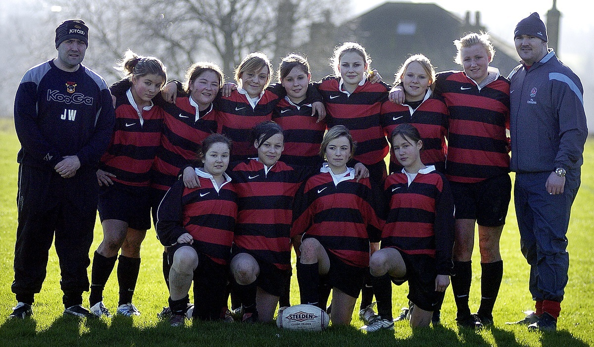IMMANUEL COLLEGE GIRLS RUGBY TEAM 2007