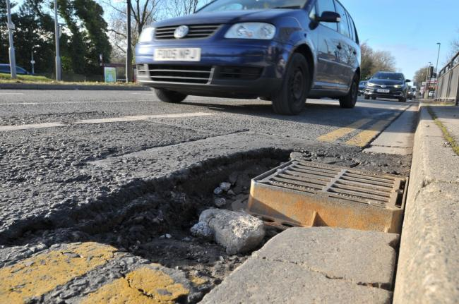 Potholes in Bradford