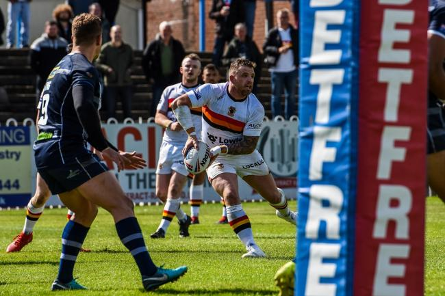 The Bulls have been drawn away to Featherstone in the Challenge Cup. Picture: Tom Pearson