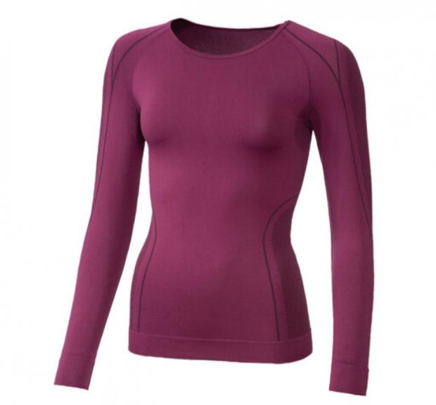 Bradford Telegraph and Argus: Crivit Ladies' Seamless Thermal Long- Sleeve Vest. (Lidl)