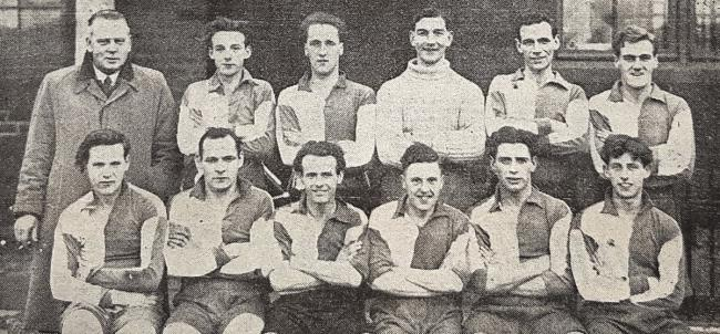 Hey's Athletic AFC in 1950