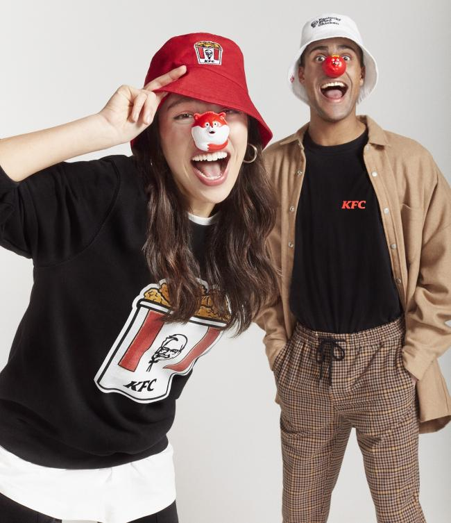How to raise Red Nose Day funds by sporting KFC merch