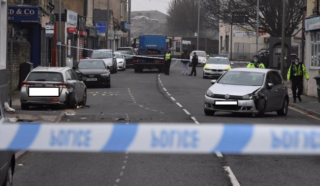 Woman pedestrian suffers serious injuries in two-vehicle crash in Bradford