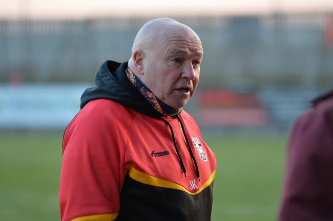 John Kear was not happy with his side's performance against Keighley last weekend, but he knows there are mitigating circumstances. Picture: Tom Pearson.