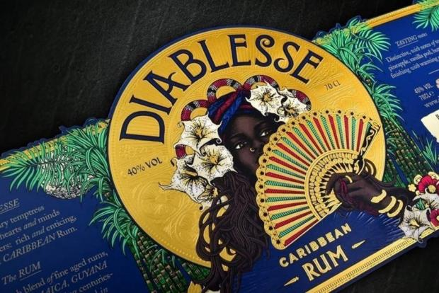 Bradford Telegraph and Argus: A label for Diablesse rum, which was made by Bradford firm The Label Makers