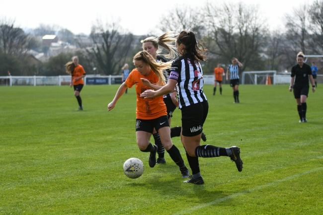 Brighouse battled past Newcastle last week to reach the Women's FA Cup Third Round. Picture: Liam Ford.