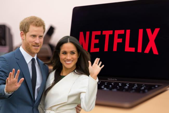 Netflix announce new Prince Harry and Meghan Markle docuseries. (PA/Canva)