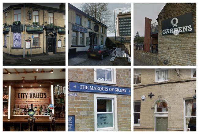 A lot of pubs are re-opening across the Bradford district on Monday