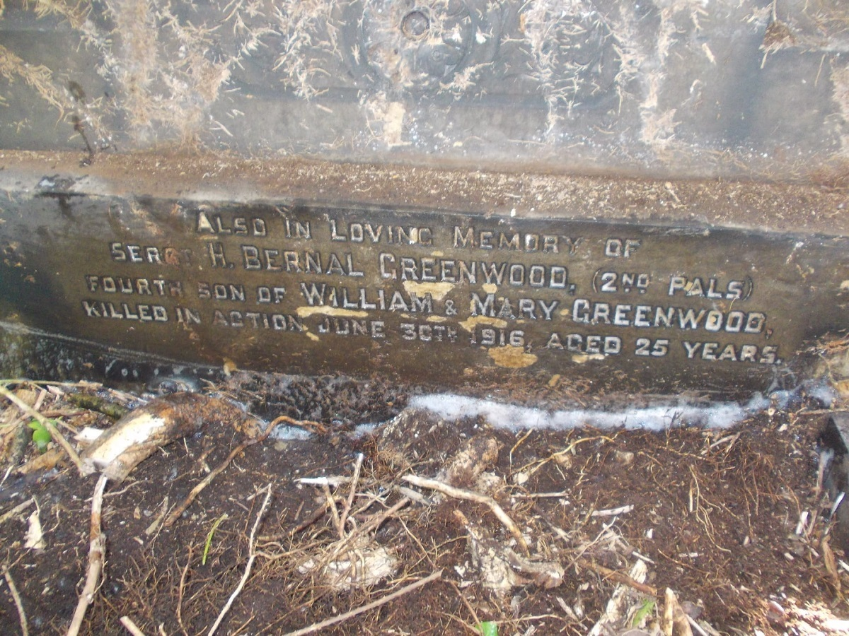 Undercliffe Cemetery volunteers unearth WW1 discovery