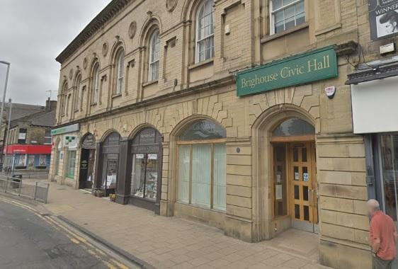 Brighouse Civic Hall when it was still open