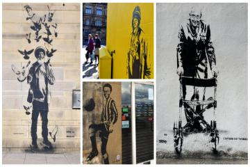 'Polish Anna' among Bradford icons celebrated in street art project