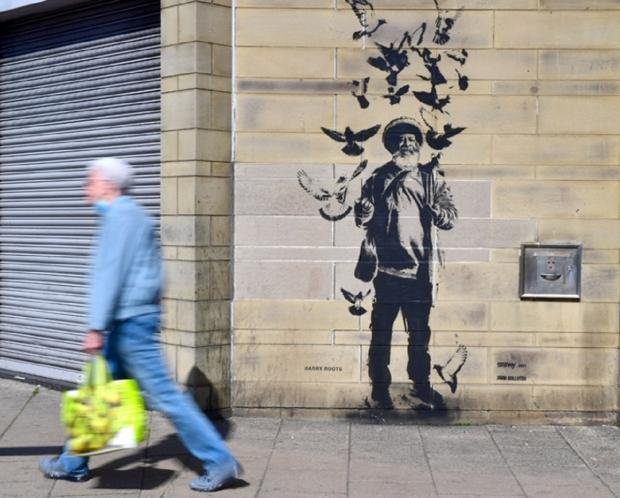 Bradford Telegraph i Argus: Barry's Roots, również na wystawie na John Street w Bradford