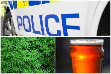 Police arrest person for drunk and disorderly in Bradford