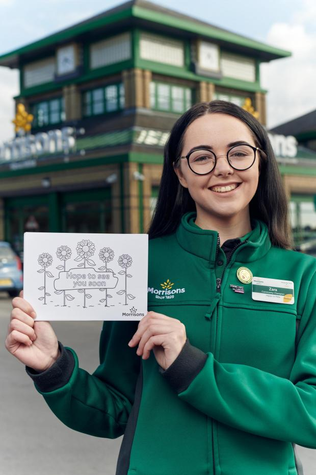 Bradford Telegraph and Argus: Morrisons will be giving away half a million free postcards. (Morrisons)
