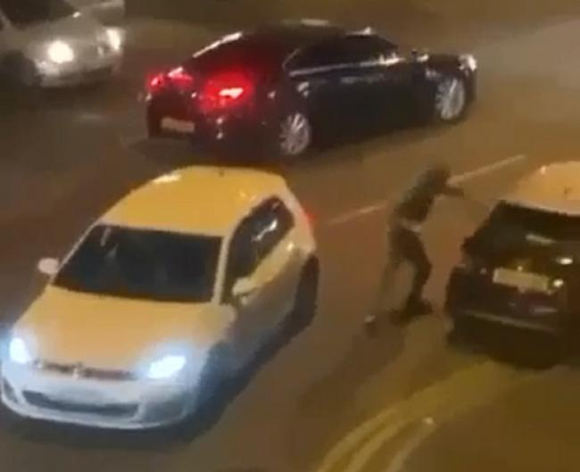 Footage Emerges Of Duckworth Lane Fight In Which Man Stabbed Bradford Telegraph And Argus