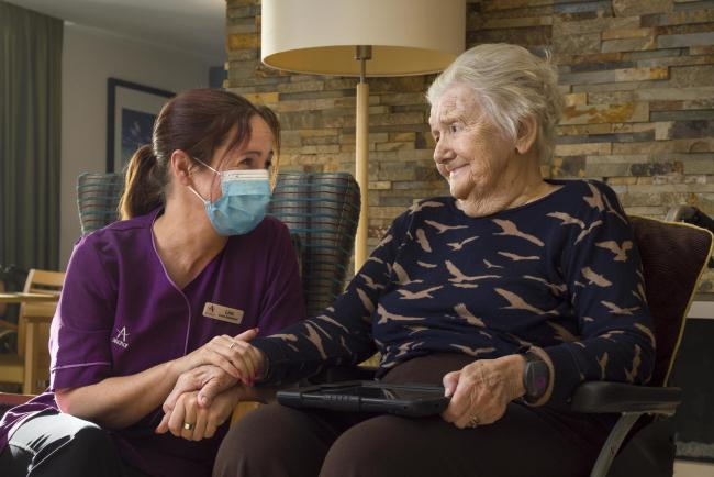 Anchor Hanover has won Large Residential Care Provider of the Year