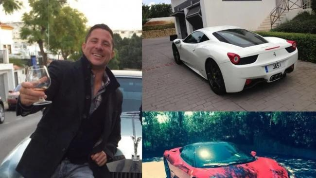 Fraudster Jason Butler might be saying goodbye to his precious Rolls Royce - or face another seven years in prison. Pic: HMRC