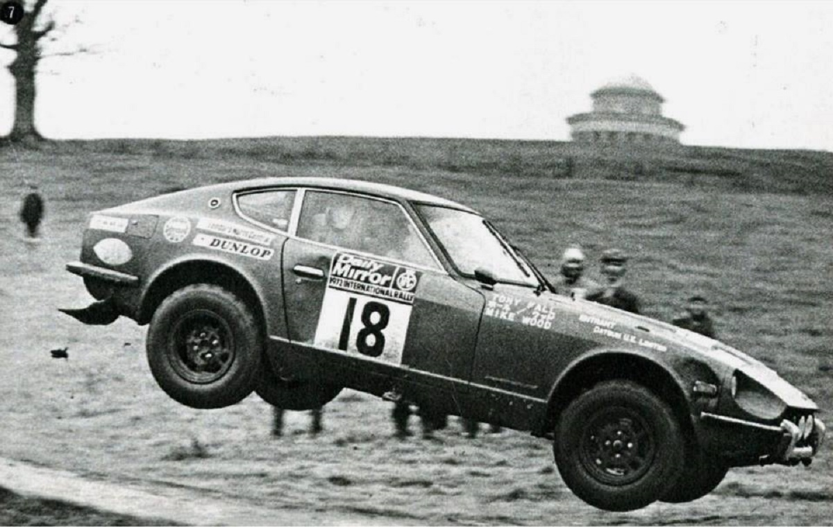 A life in the fast lane for Bradford rally legend