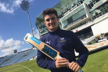 Cricketer encourages youngsters to enter diabetes condition