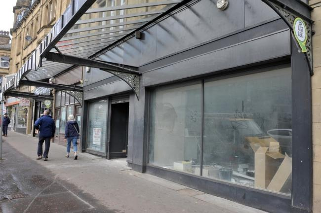 The empty units that can now be converted into a restaurant