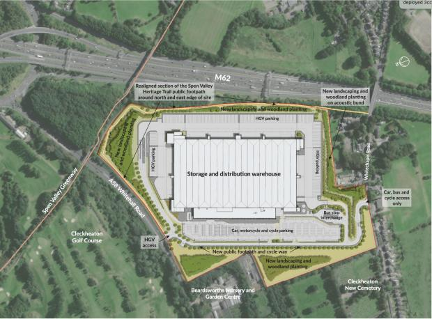 Bradford Telegraph and Argus: What the huge 2.9m sq ft warehouse could look like