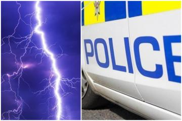 Nine-year-old dies in Blackpool after being struck by lightning