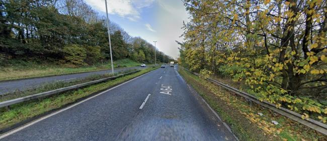 Stanningley Bypass (A647) near Owlcotes Asda and Marks & Spencer. Pic: Google Street View