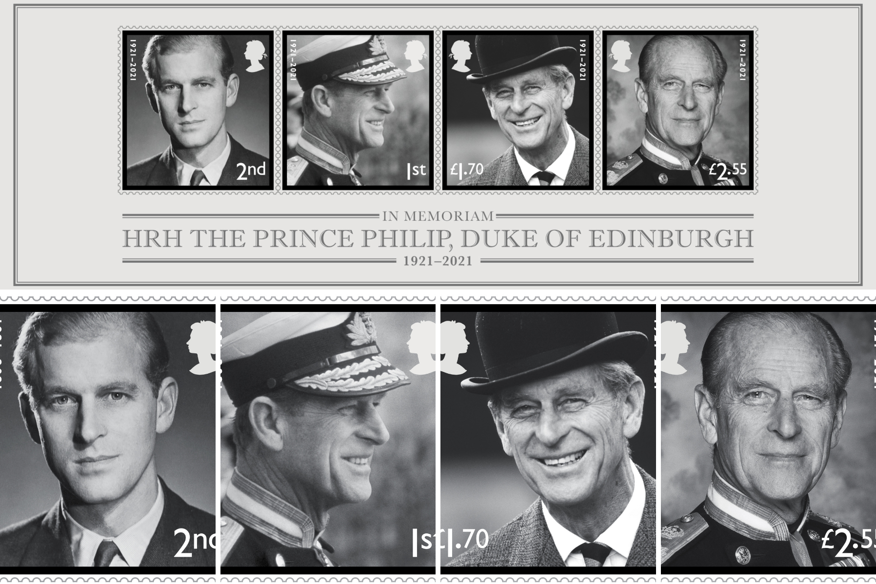 You can pre-order new Royal Mail stamps in memory of Prince Philip