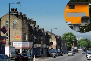 Tell us which is Bradford's most dangerous road for speedsters