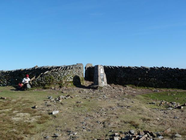 Bradford Telegraph and Argus: Whernside summit