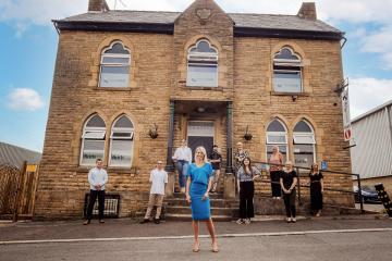 Faith PR, of Brighouse, signs up three clients for work