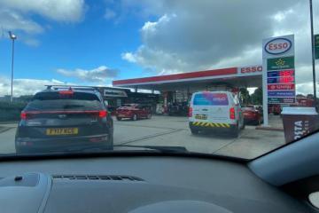 Bradford cabbies speak of 'disturbing and upsetting' scenes at city's petrol stations