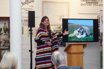 Yorkshire Shepherdess says wool can help regenerate moors