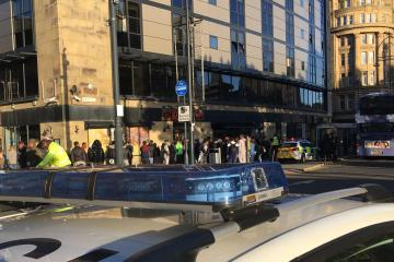 People left injured after fight breaks out in city centre