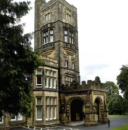 Cliffe Castle in Keighley